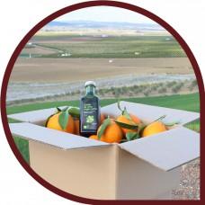 Naranjas de Mesa 15 kg + 6x500 ml Aceite Oliva Virgen Extra